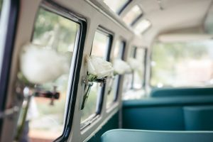 VW Bus-Bulli T1 Samba Deluxe als Hochzeitsauto / T1-Berlin.de
