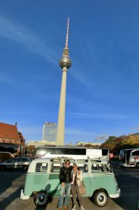 Der schönste Fernsehturm der Welt - Berlin by Bulli Sightseeing - © T1-Berlin.de