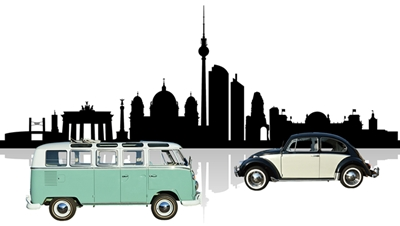 vw bus bulli t1 samba deluxe und vw k fer 1300 oldtimer. Black Bedroom Furniture Sets. Home Design Ideas